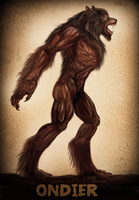 Werewolf Wednesday Ondier by Viergacht