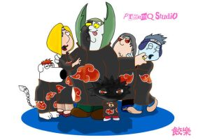 Akatsuki-Family Guy by Przemq-S