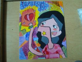 my cubist painting by Hi3ei
