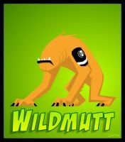 Ben 10-wildmutt by ferwar