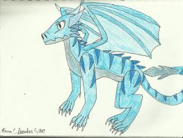 Waoh Blue Dragon by extreme810