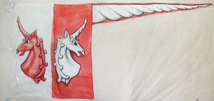Unicorns flag by WorldsEdge