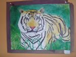 Tiger Painting by rwmtiger