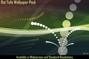 Dot Tails Wallpaper Pack by mikee99
