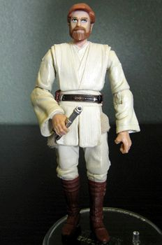 Clone Wars Obi-Wan Kenobi Custom Figure by jvcustoms