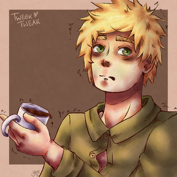 Tweek Tweak [South Park] by yumiomiru