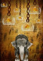 Born as an elephant by mawilda