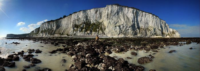 The white cliffs of Dover by Adrian87