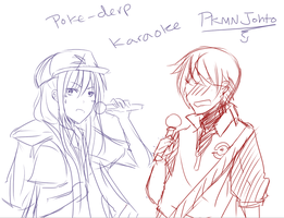 IGNORE B( omfg kill your ears pkmn karaoke thing by Saiko-Akarui