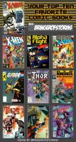 My Top Ten Favorite Comics EVER by BringerOfStorms