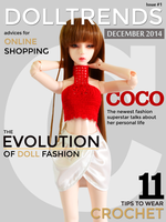 DollTrends Magazine ~ Cover by musumedesu
