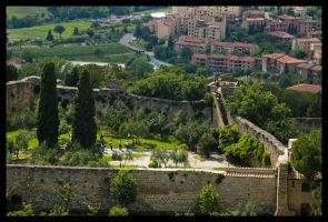 Gimignano Fortress by Vagrant123