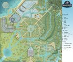 Jurassic World Orlando Map by JoshuaDunlop