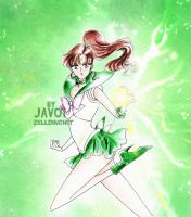 makoto kino sailor jupiter -SMC - power of jupiter by zelldinchit