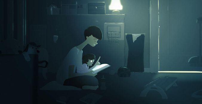 Good Night Moon by PascalCampion