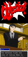 Kevin Levin: Ace Attorney by Azure-Rose-Cosplay