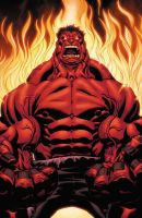 Red Hulk by xXNightblade08Xx