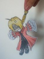 Edward Elric Paper Child by TC-79