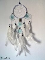 Dreamcatcher white by SuvetarsWell