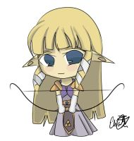 Zelda - Legend of Chibi by darkmagic814