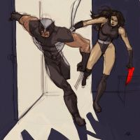 Uncanny X-Force by Grey-Coven