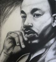 Martin Luther King Jr. by themurderfad