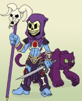Chibi Skeletor by elimsyxes