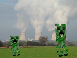Minecraft in real life-Creeper Zone by creeperaptor40