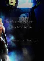 She's Not That Girl by LivvieBrundle