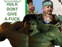 Hulk Dont Give A-Fuck by Minuteman360