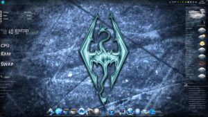 My Skyrim Desktop by Solace-Grace