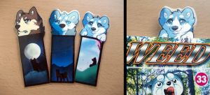 Ginga Bookmarks by Anttu-chan