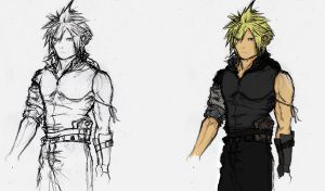 Cloud Attire Idea by Ex-Soldier-Cloud