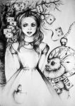 Alice in Wonderland by MadlenvonByron