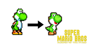 Yoshi Sprites Changed! by KingAsylus91