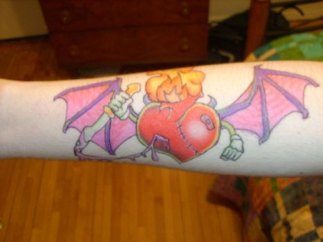 Sharpie Evil Heart by iellwen-huzzah3