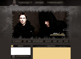 Ian Somerhalder Layout by Lexigraphic