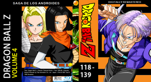 Dragon Ball Z Blu-ray cover Volume 4 by PhysicsAndMore