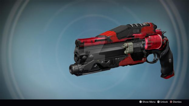 Inferno: Legendary/Exotic Hand Cannon by shadowequinox