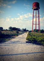 Old Abandoned Water Tower - Lomography by element321