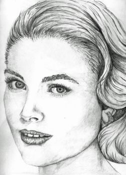 Grace Kelly by Frazzlee