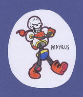 Chibi Papyrus #35 by ZigiaInfinite