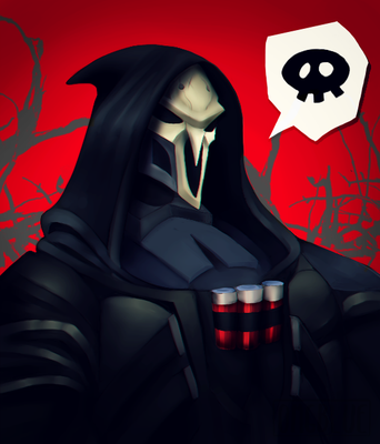Overwatch - Reaper by OMGBLUE