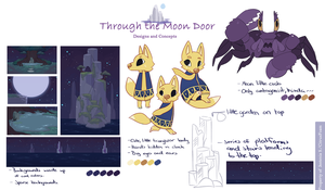 Animation Concepts:Through the Moon Door by CitrusFoam