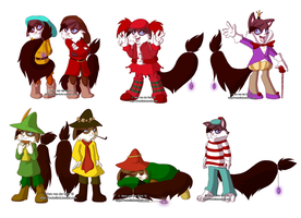 Halloween Dress-up by Genolover