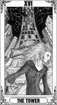 KH Tarot: The Tower by Autumn-Sacura