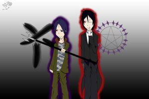 Duo from hell by yorunonaka7929