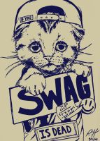 SWAGG IS DEAD by myartisoriginal