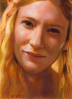 Galadriel close card by charles-hall