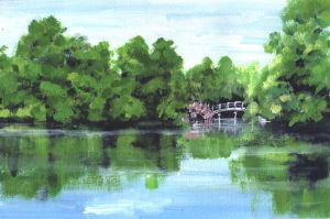 View from the White Bridge by Life-takers-crayons